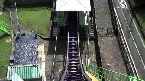 Boomerang (Six Flags México) - OnRide (720p)