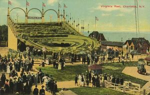 Virgina Reel Postcard