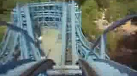 Ghoster Coaster (Kings Dominion) - OnRide - (360p)