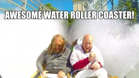 Vonkaputous Water Roller Coaster POV Linnanmaki Finland
