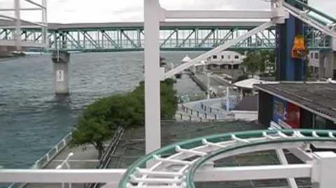 Dolphin Coaster - OnRide - Sea Paradise - 480p