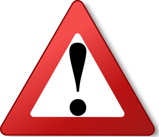 File:Warning triangle red.png