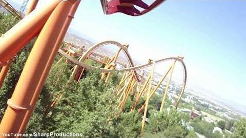 Tatsu (Magic Mountain) - OnRide - (720p)