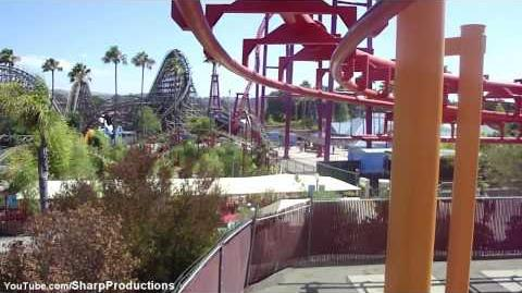 Kong (Six Flags Discovery Kingdom) - OnRide - (720p)