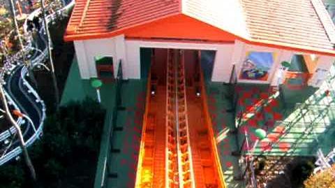 RC Racer vitesse maximale - Disneyland Paris - Walt Disney Studios Park - OnRide - 480p
