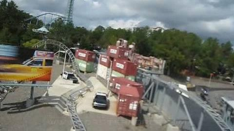 Back Lot Stunt Coaster (Kings Dominion) - OnRide - (480p)