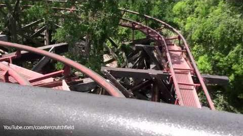 Runaway Mine Train (Six Flags Over Texas) - OnRide - (1080p)