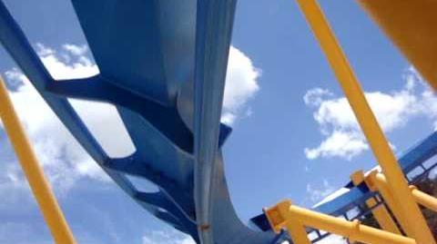 Goliath (Six Flags Fiesta Texas) - OnRide - (480p)