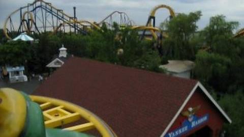 Ragin Cajun (Six Flags Great America) - OnRide