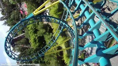 Boomerang Coast to Coaster (Six Flags Discovery Kingdom) - OnRide - (720p)