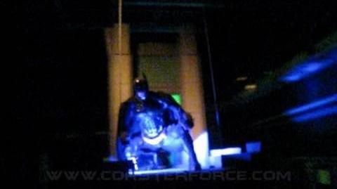 The Dark Knight Front Seat on-ride POV Six Flags Great America