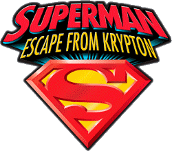 File:Superman Escape From Krypton Logo.png