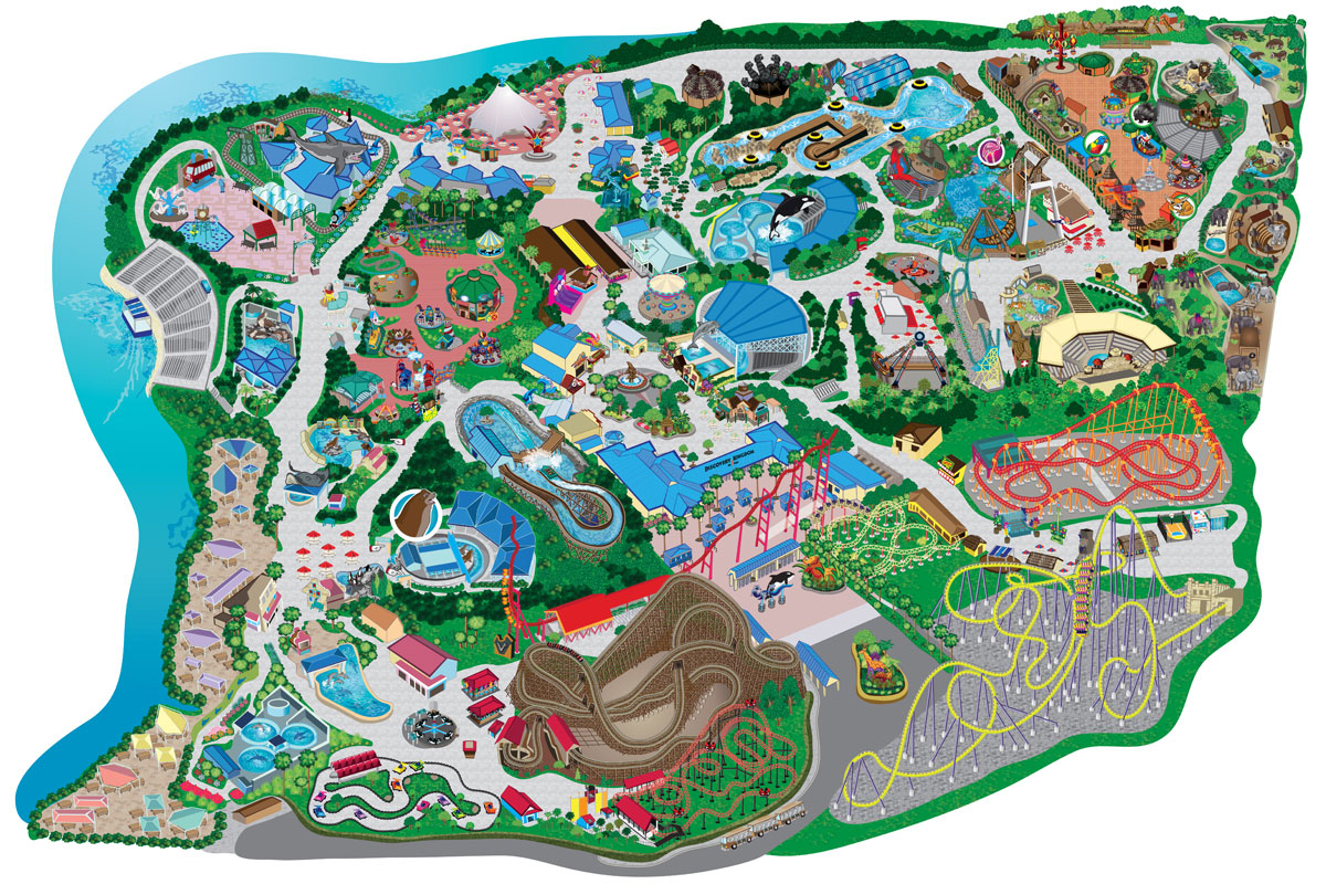 file six flags discovery kingdom map roller coaster wiki