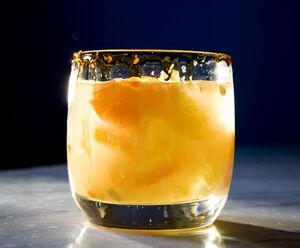 Summer Kumquat Caipirinha