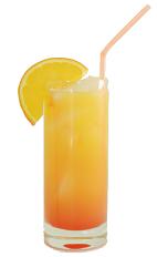Orange soda and vodka