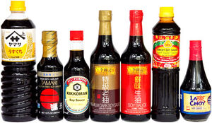 Soy sauce brands