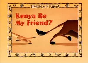 Kenya be my Friend