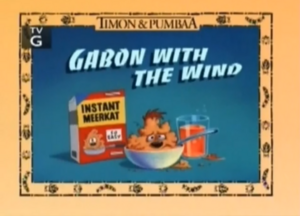 Garbon with the Wind