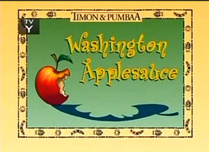 Washington Applesause