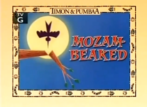 Mozam Beaked