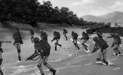 Marines landing