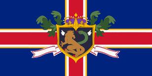 Code Geass Holy Britannian Empire Flag 1