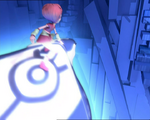 Aelita ride the controlled Manta