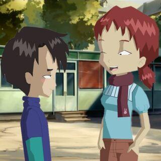 Hiroki and Milly.