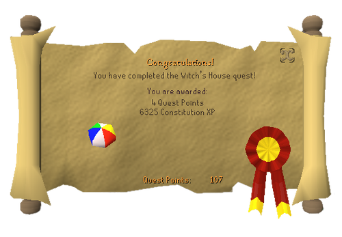 Witchs House Reward.png