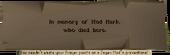 Jagex grave text