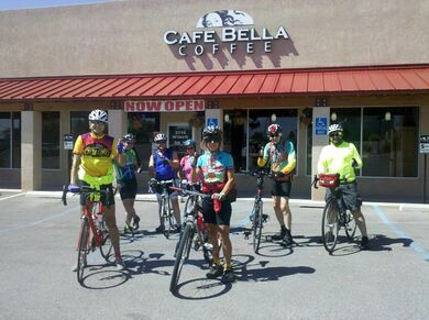 Cafe Bella Coffee Cycle Ride