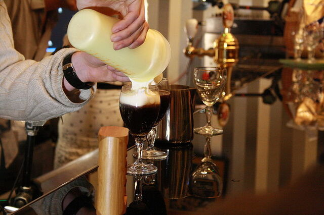 File:File-Making of Irish coffee on Coffee Right in Brno, Czech Republic.jpeg