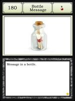 180.-Bottle Message