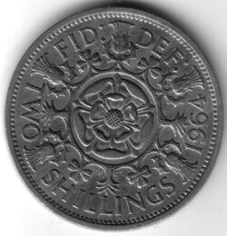 GBP 1964 2 Shilling