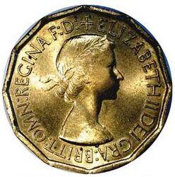 GBP 3 Pence Decimal