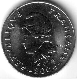 CFP 2006 10 Franc