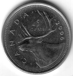 CAN CAD 2006 25 Cent