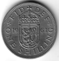GBP 1963 1 Shilling