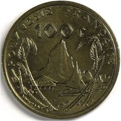 CFP 100 Franc