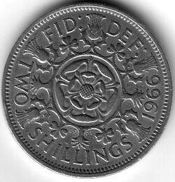 GBP 1966 2 Shilling