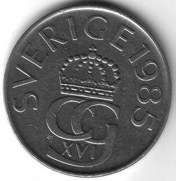 SEK 1985 5 Krona