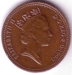 GBP 1990 1 Penny