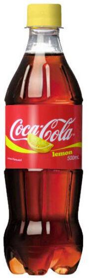 Lemon Coke bottle