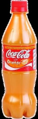 File:Coke Orange bottle.png