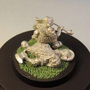 Goblin on dead dwarf 8