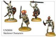 UND06 Skeleton Characters