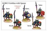 GOB13 Goblin With Spears