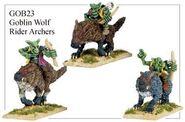 GOB23 Goblin Wolf Rider Archers