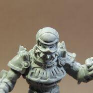 Impact Beastface Chaos Warrior Visor 2 head