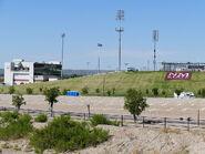 Aggie Memorial Stadium - Outside, Fulton Center & East Outer Grass Embankment
